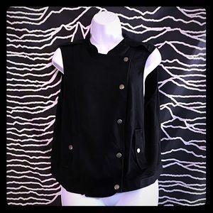 🖤Torrid Black Moto Vest with Pockets!🖤